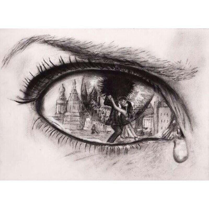 sadness through sight