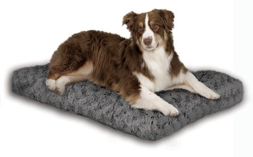 33 97 59 99 midwest quiet time pet bed deluxe gray ombre swirl 40 inches by 27