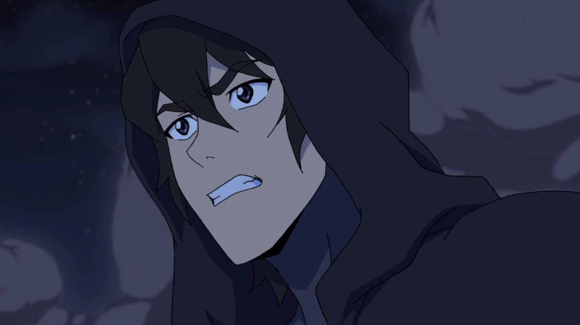 Keith In His Blade Of Marmora Armor In A Hood From Voltron
