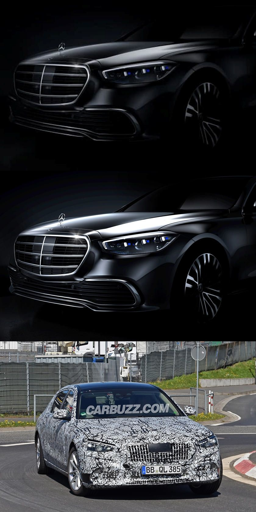 Teased First Look At All New 2021 Mercedes Benz S Class First Official Image Of The All New S Class Revealed Benz S Benz S Class Mercedes Benz