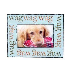 Wag Wooden Dog Picture Frame Cute Dog Frame Dog Picture Frames