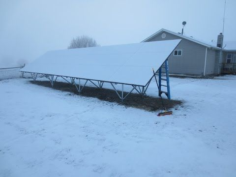 Solar Panel Ground And Roof Mount Pros Amp Cons Youtube