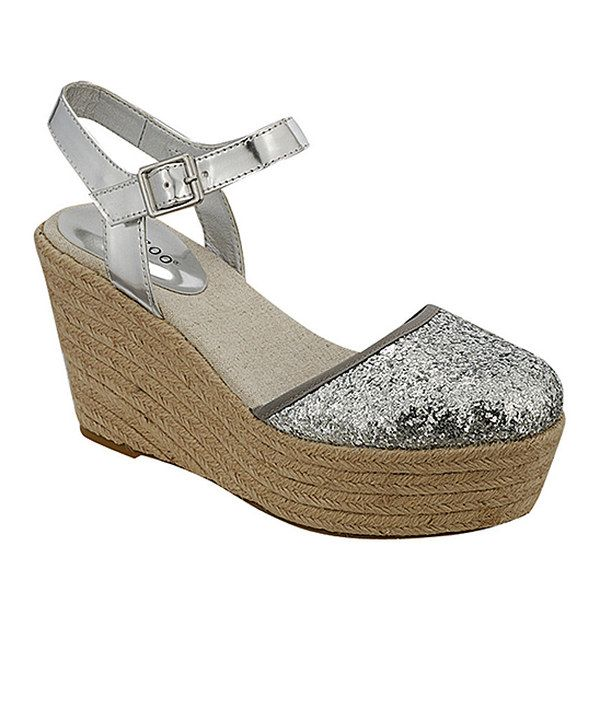 Another great find on #zulily! Bamboo Silver Joe Espadrille by Bamboo #zulilyfinds