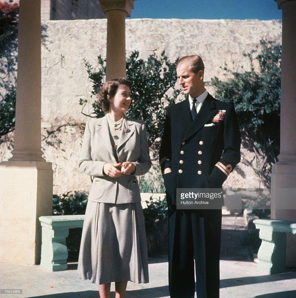 Princess Elizabeth And Her Husband Prince Philip Duke Of Edinburgh Princess Elizabeth Prince Philip Queen Elizabeth