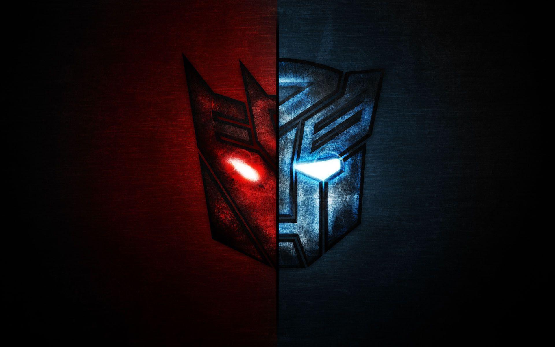 Autobot Vs Decepticon Transformer Logo Wallpaper Hd Wallpaper