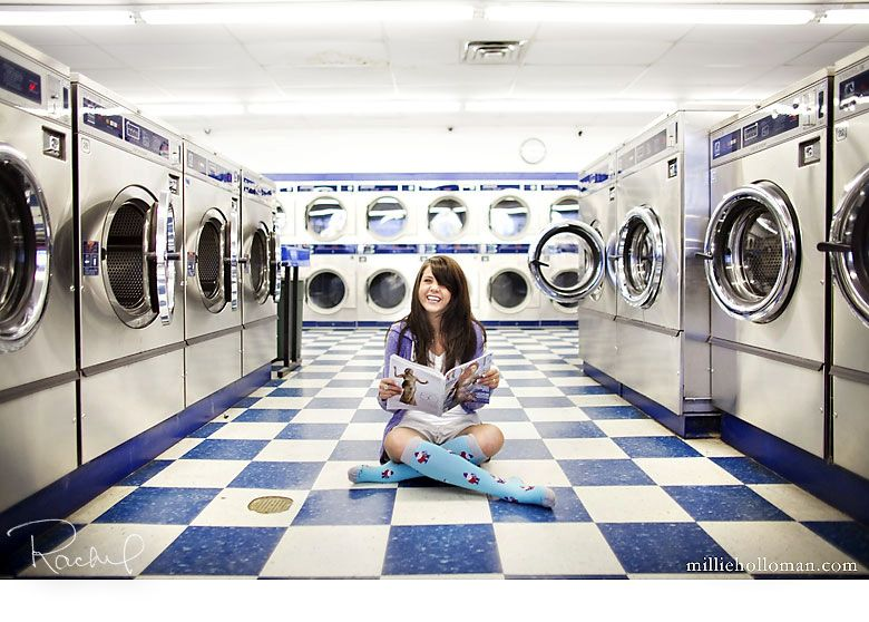 Senior Girl I Want To Do A Shoot At A Laundromat My Beautiful