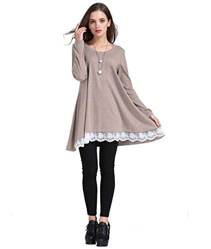edf89505abd Women's Leggings · - Thick Fabric, soft and comfortable material - Pull On  closure - Casual Tunic Shirts