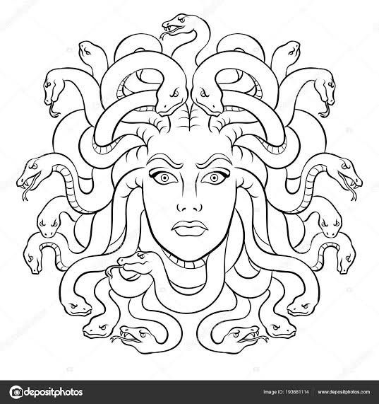 Medusa Para Dibujar Mitologia Griega Google Search Medusa Drawing Medusa Art Medusa Artwork