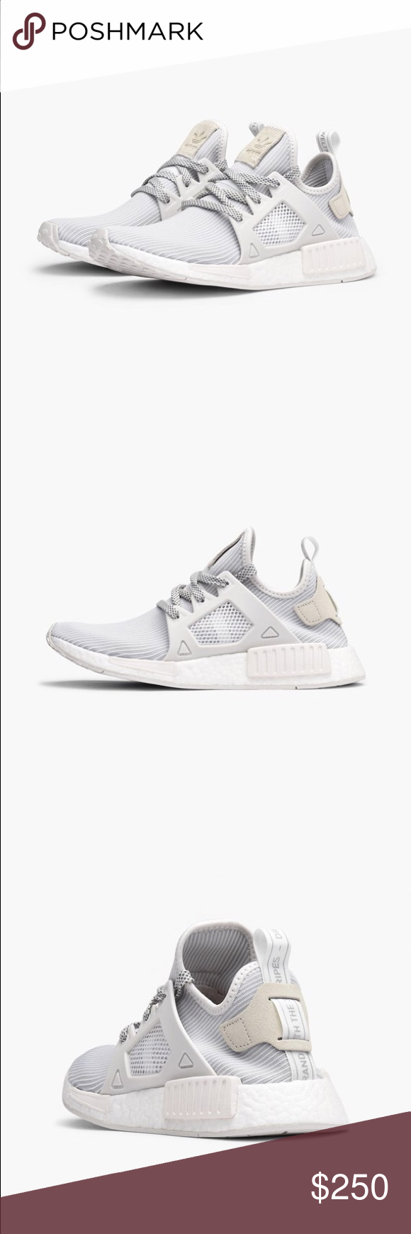 Adidas NMD XR1 Primeknit Vintage White Size us6, 6.5 womens Adidas Shoes  Athletic Shoes