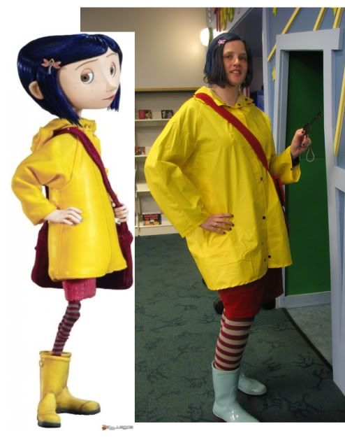 Coraline Success Coraline Costume Cosplay Outfits Coraline