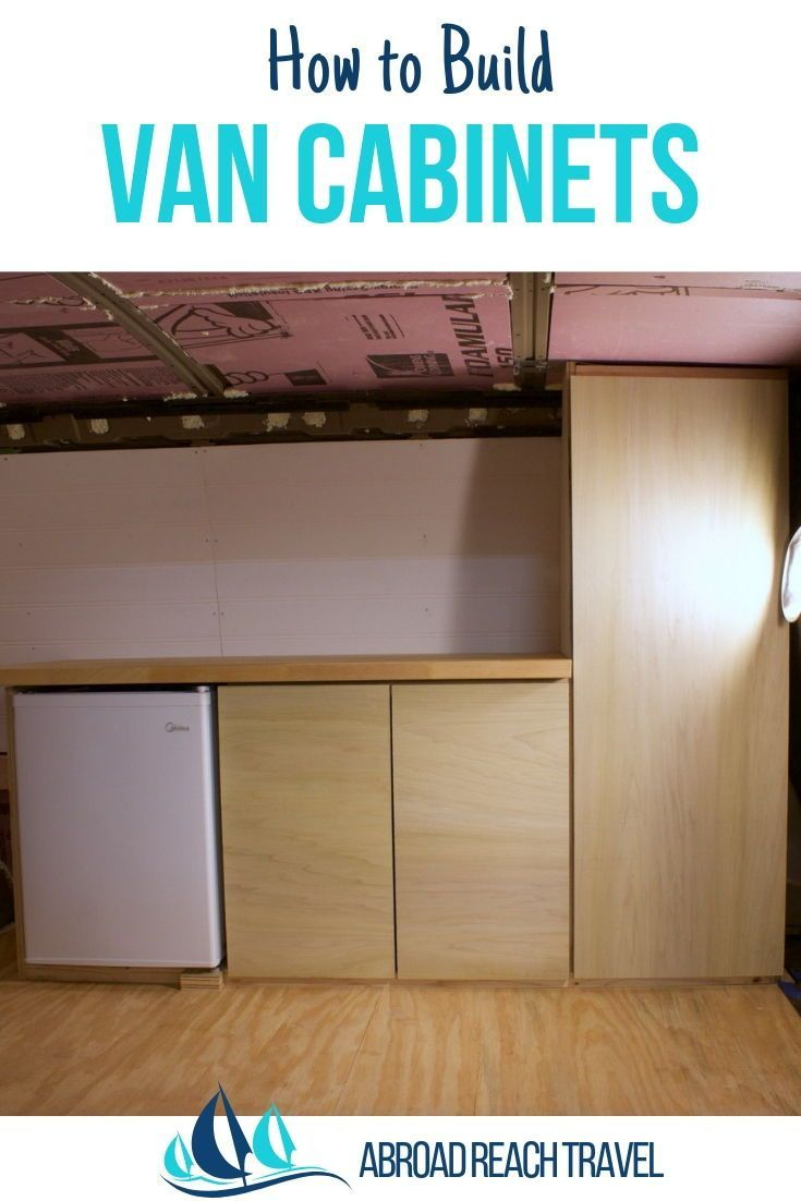 Photo of How to Build Van Cabinets – Abroad Reach Travel
