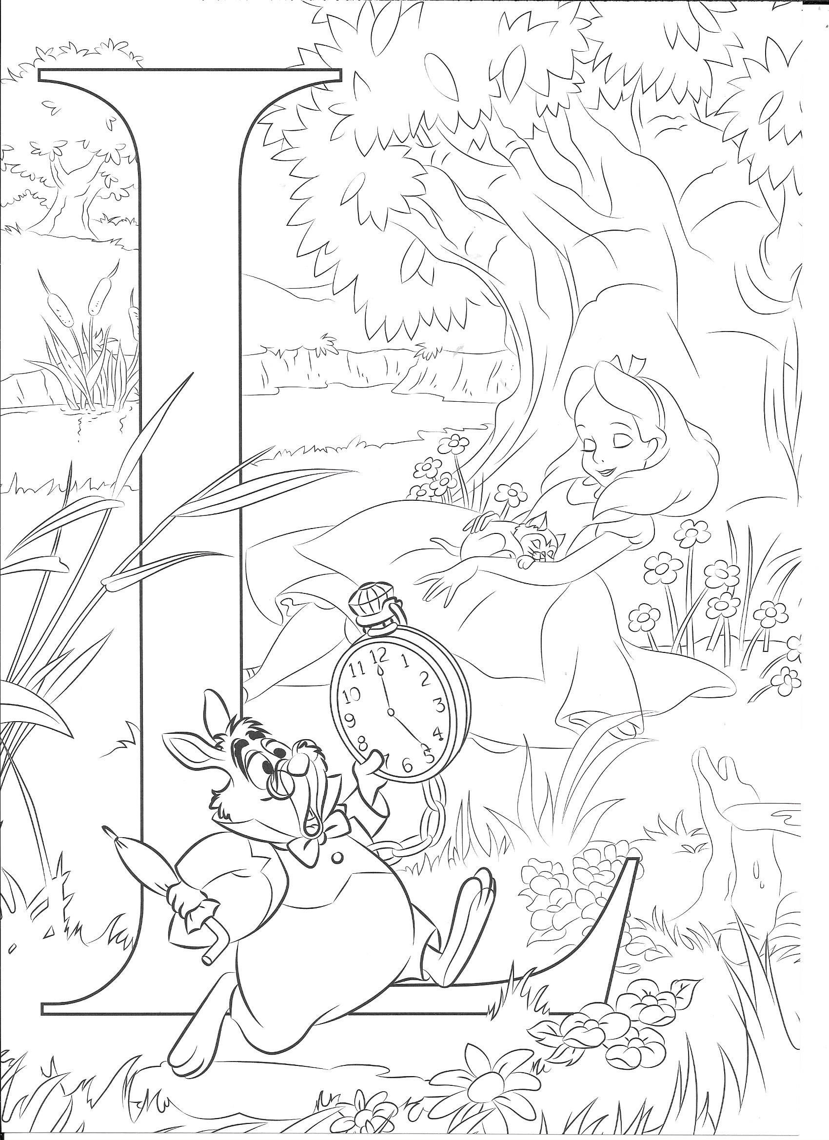 Disney Coloring Pages Printable