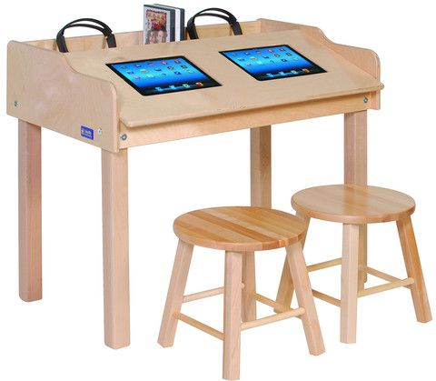 Double Wide Single Sided Technology Table Honor Roll