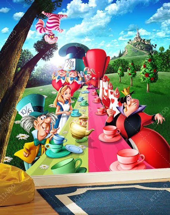 Best Alice In Wonderland 2 Wall Mural Wallpaper Wall Décor 400 x 300