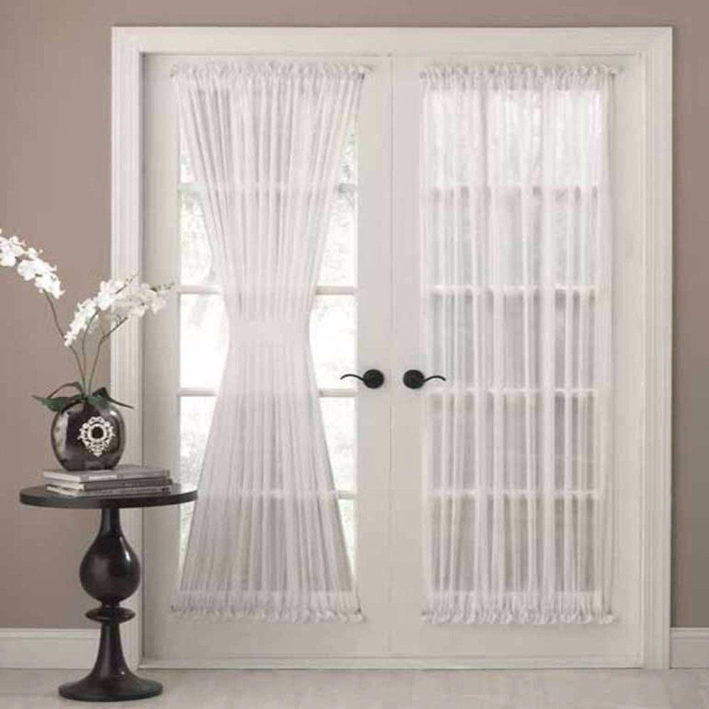 Best 3d Scenery Blackout Curtains Online With Images French Doors Interior Doors Interior Wood Doors Interior