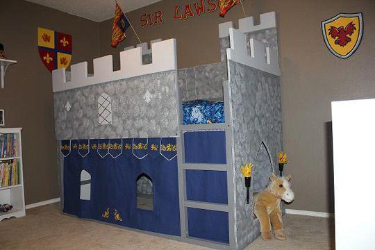 Boy S Prince Knight Castle Bed Castle Playhouse Castle Bedroom