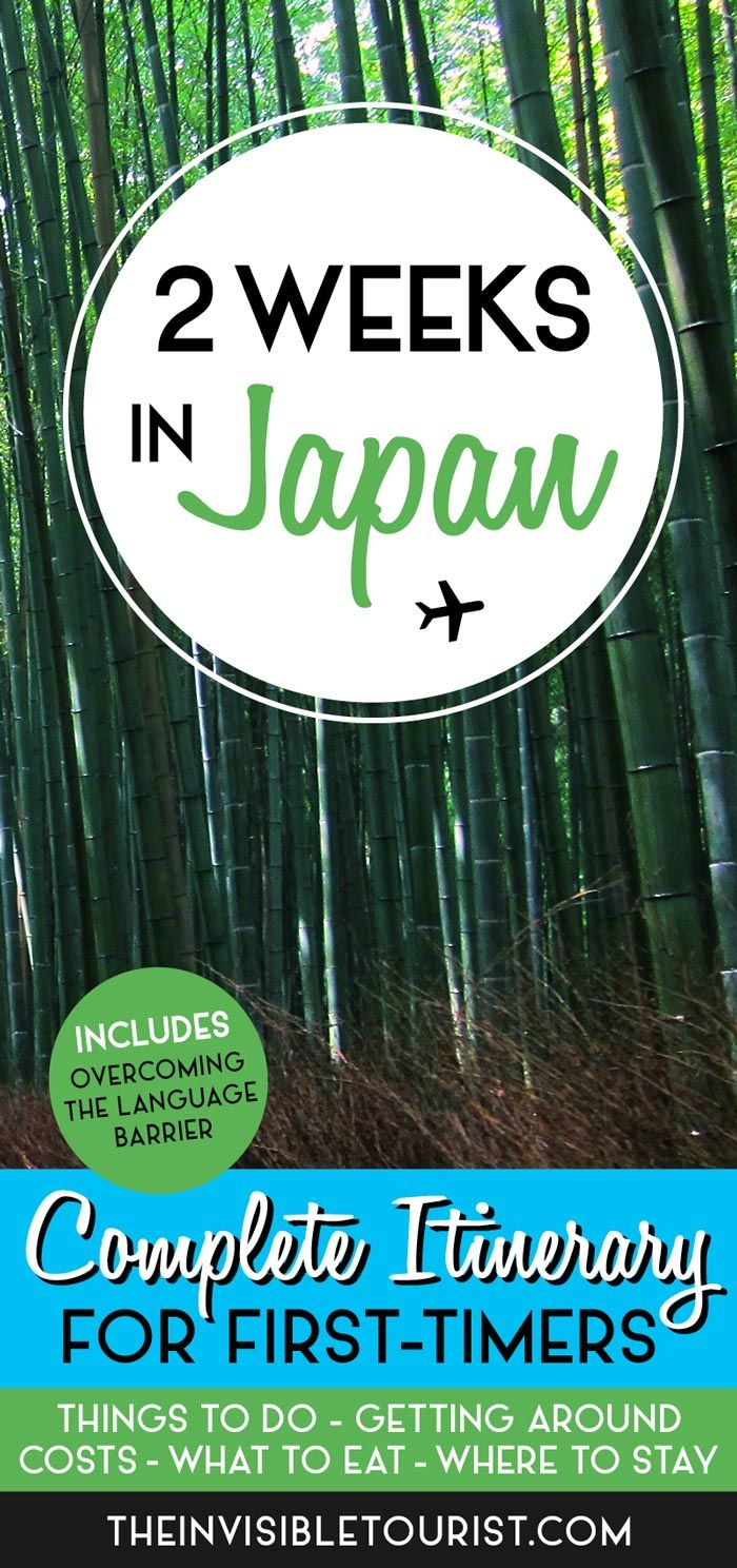 2 Weeks in Japan: A Complete itinerary for First-Timers | The Invisible Tourist