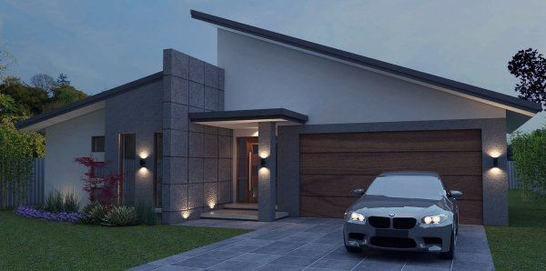 Image result for skillion roof house designs | Facade ...