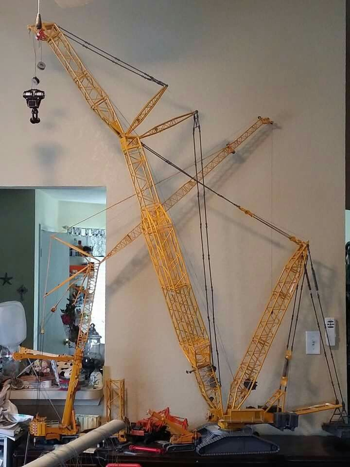 Pin By Robert Chase On Diecast Model Cranes 1 50 1 55 1 87 Lego Crane Construction Machines Crane Construction