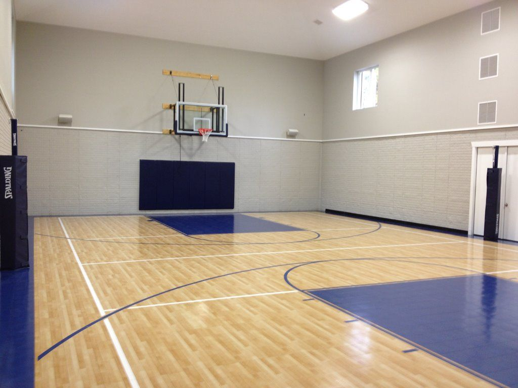 Pin By Staci Mcdonald On Residential Sport Court Indoor Basketball Court Indoor Basketball Best Home Plans