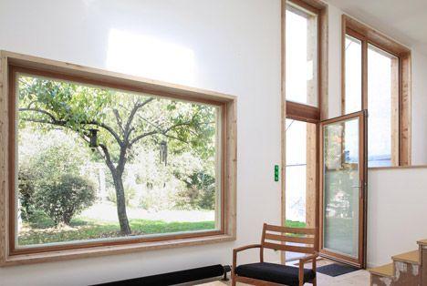 Interior Wood On White