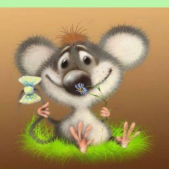 Поздравлением, прикольная картинка мышки здрасте