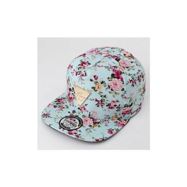 Men Women Floral Flower Adjustable Snapback Baseball Hats Flat Hip...  ( 6.39) 9c2c73eaf8da