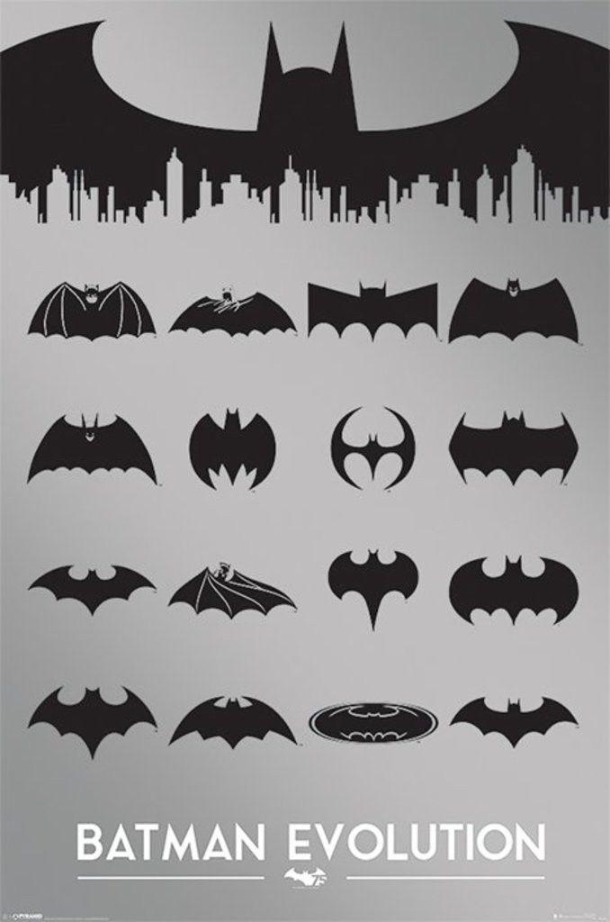 Batman Batman Evolution Official Poster Superhelte Billeder Plakater