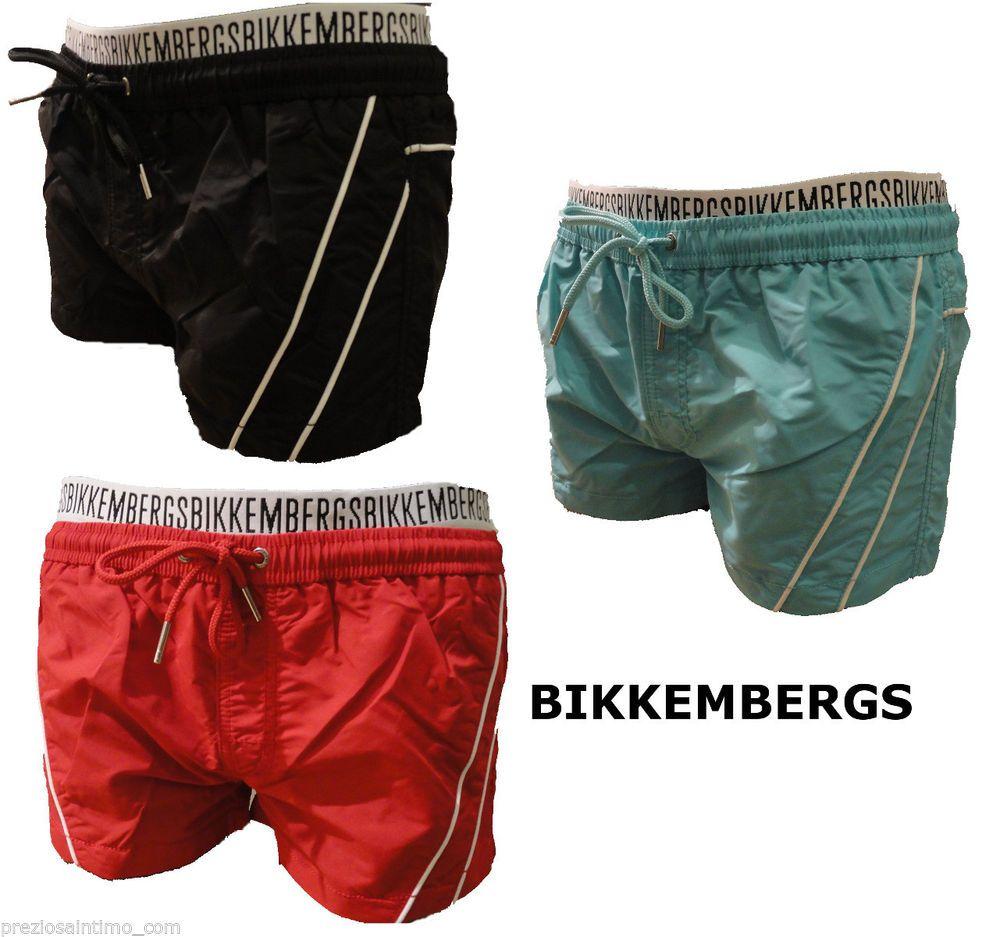 Boxer Mare Bikkembergs 2014 Uomo Costume da Bagno men Extra corto ...