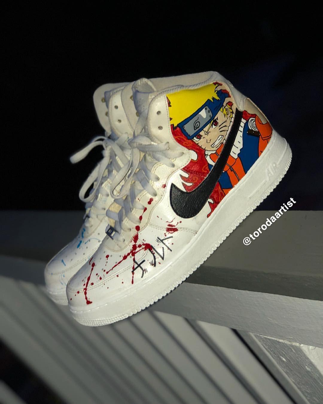 Behind the scenes by torodaartist in 2021 custom shoes