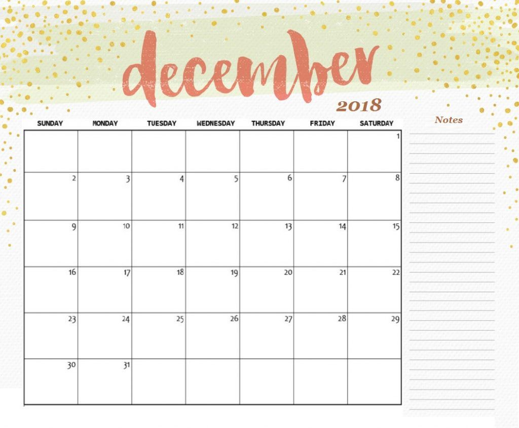 calendar for dec 2018 html calendar 2018 desk calendar calendar notes cute calendar