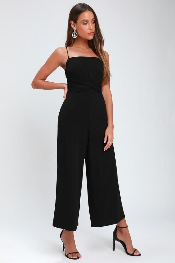 6d2f9b10ef4  AdoreWe  Lulus -  Lulus Tom Gerrard Flasher Black and White Print  Button-Up Jumpsuit - Lulus - AdoreWe.com