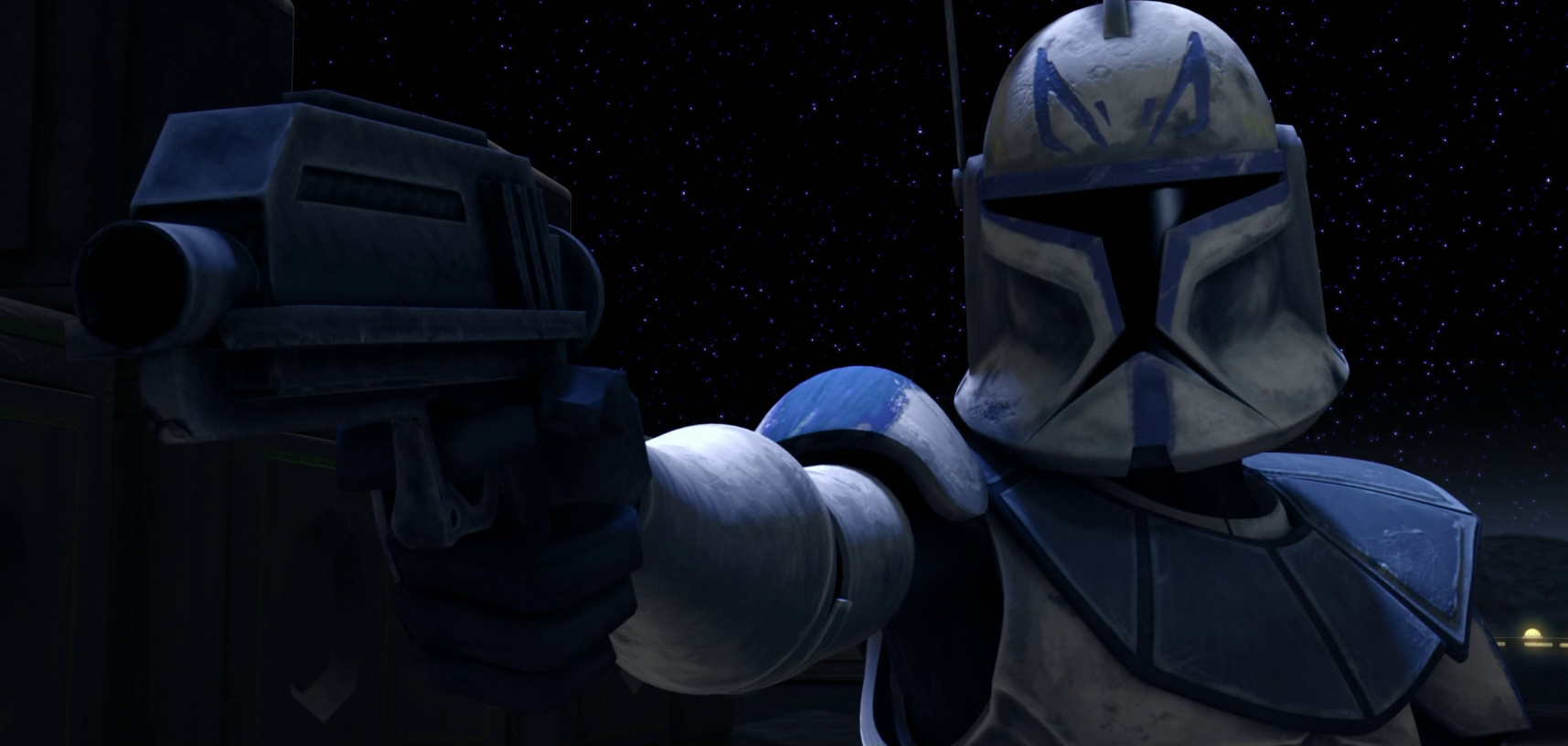 Rex Takes Point Blank Aim At A Droid Commando Clone Captain Rex Star Wars Star Wars Clone Wars Star Wars Wallpaper Star Wars Fandom