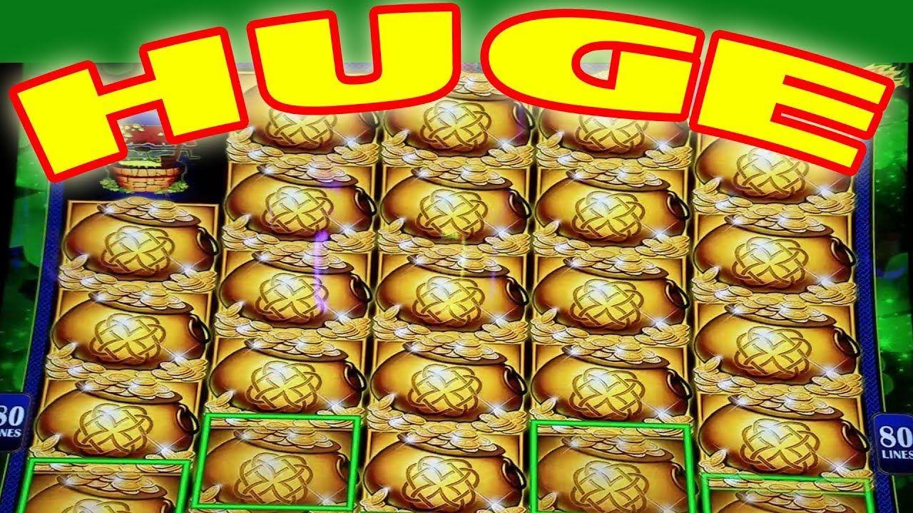 Huge leprechaun helps turn my 100 into over 1000