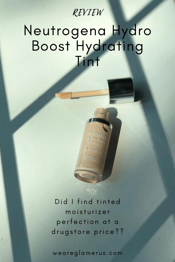 Neutrogena Hydro Boost Hydrating Tint Review Neutrogena