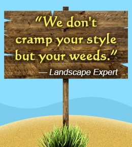 catchy landscaping phrases