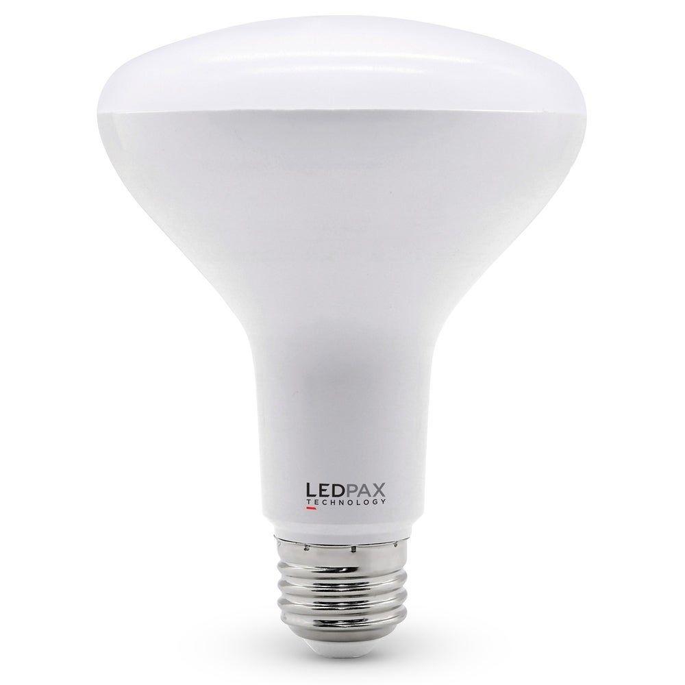 Photo of LEDPAX BR30 Dimmbare LED-Lampe, 9 W (65 W-Äquivalent), 3000 K, 650 Lumen, CRI 80, UL, ES-zertifiziert (4er-Pack)