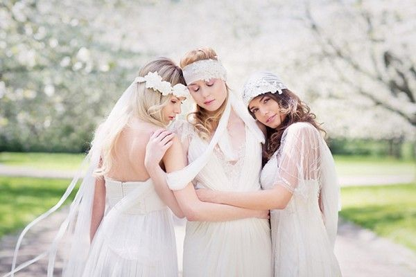 Rhapsodie France: Bridal headpiece collection 2014