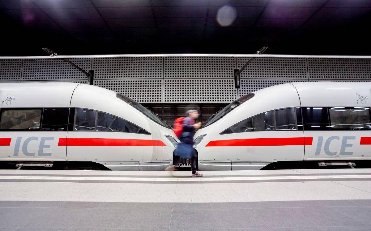 Ab Dezember Fahrt Ein Ice Von Krefeld Direkt Nach Berlin Bus Und Bahn Bahn Bus