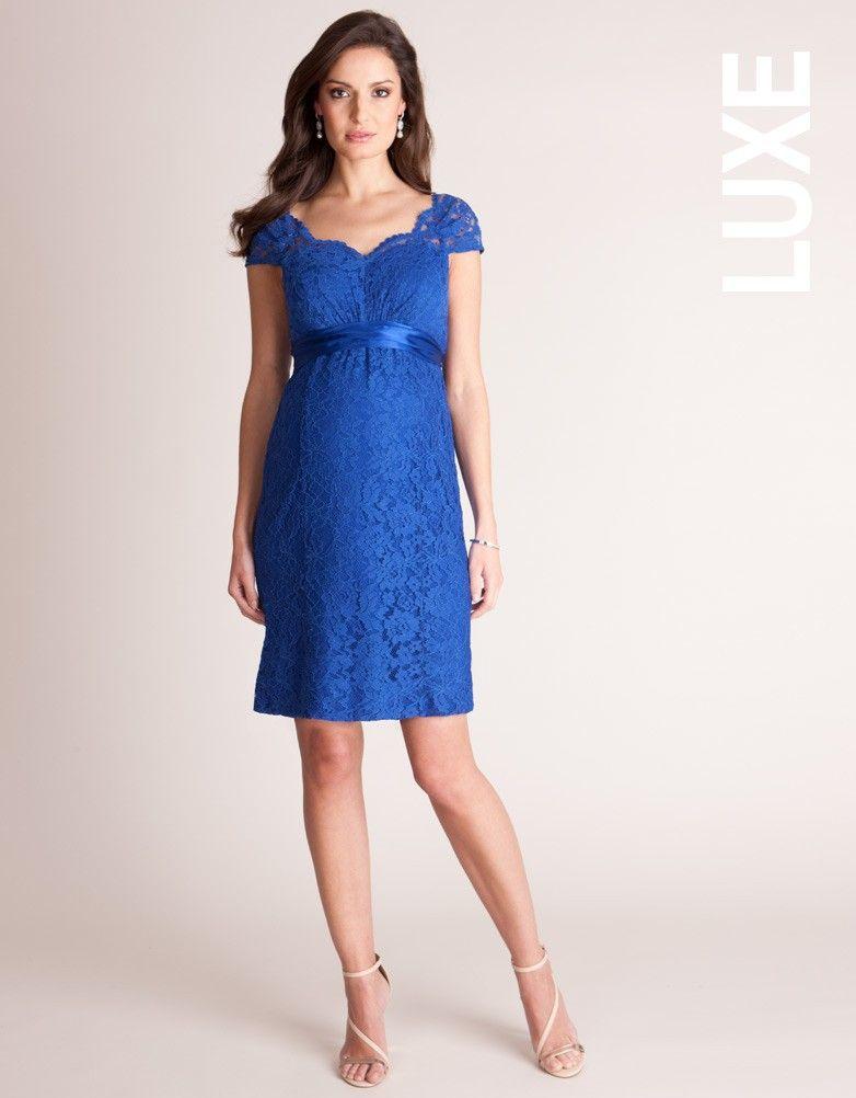 Lace Formal Maternity Dress