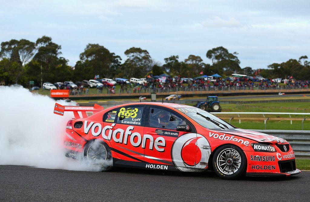 Vodafone 888 Racing V8 Supercars Race Cars