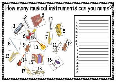 Worksheet Instrument Worksheets musicals awesome and quizes on pinterest