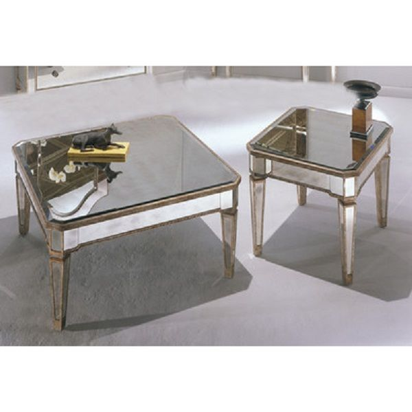 borghese mirrored coffee table Table Designs Plans Pinterest