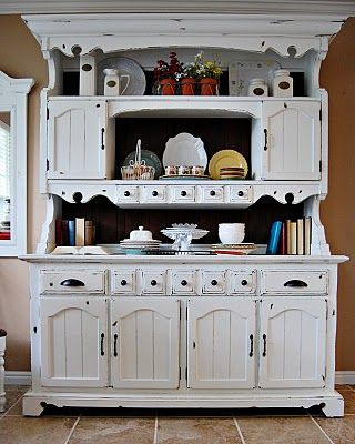 This Website Tells You How To Strip And Paint An Old Hutch Look