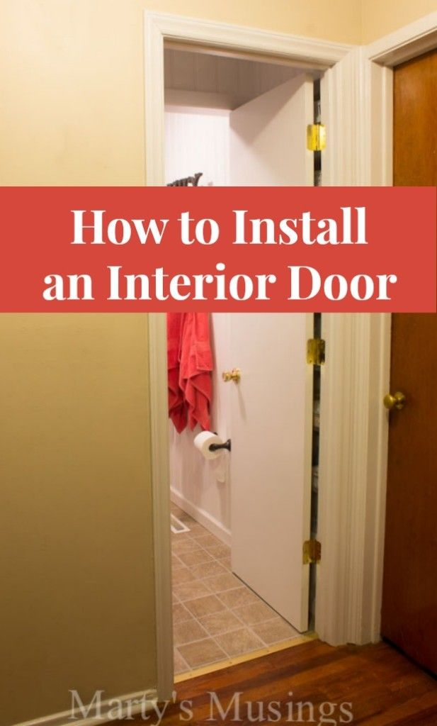 How To Install An Interior Door Home Improvement