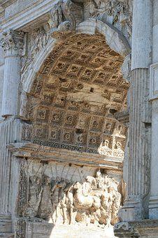 Italia, Roma, Arco De Tito