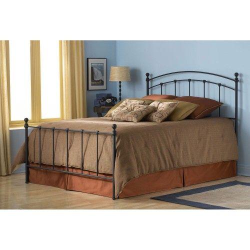 Sanford Iron Bed in Matte Black | Bedroom and bath | Pinterest ...