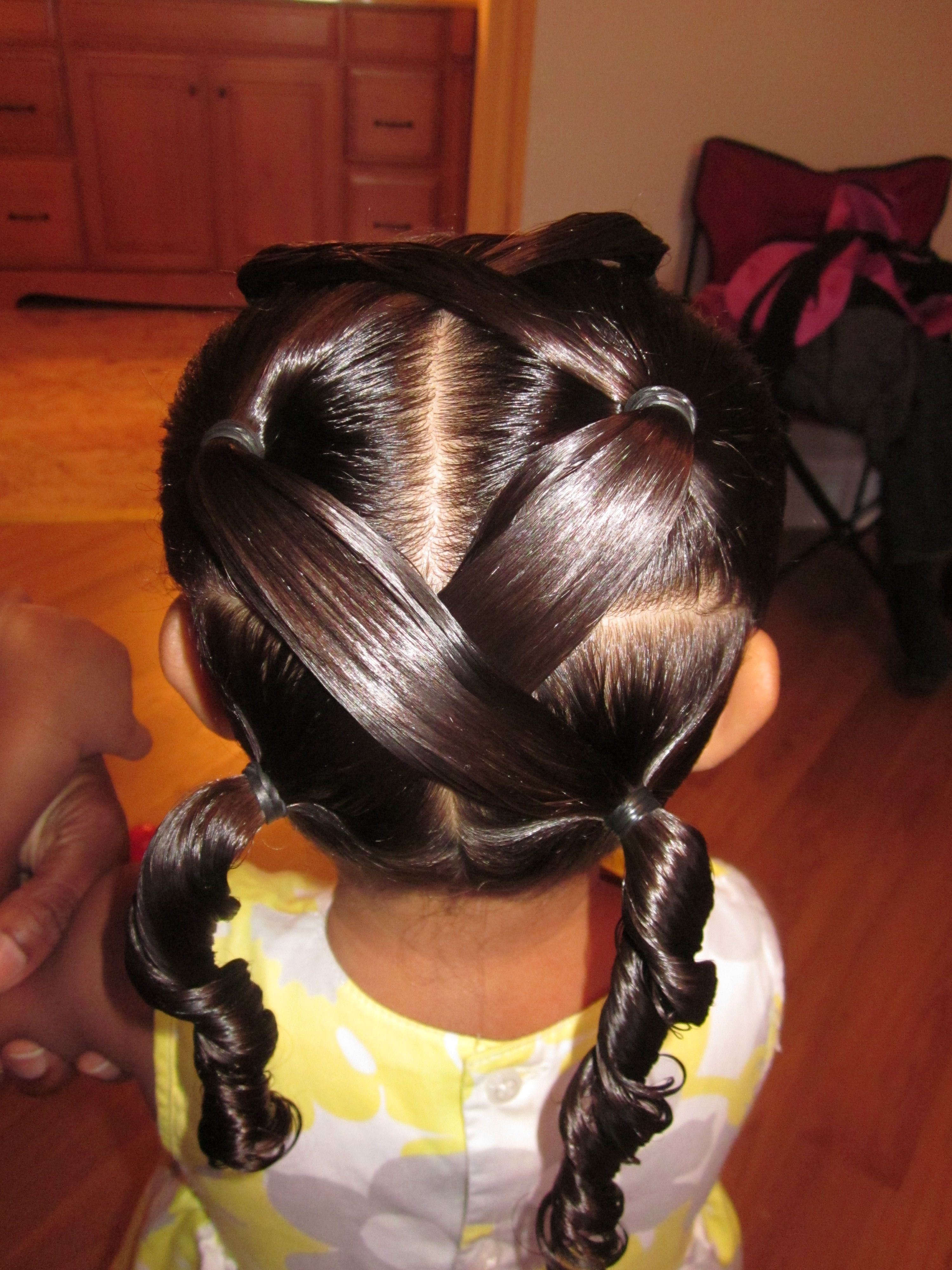 Tried the Hair Style today-turned out really cute!!!