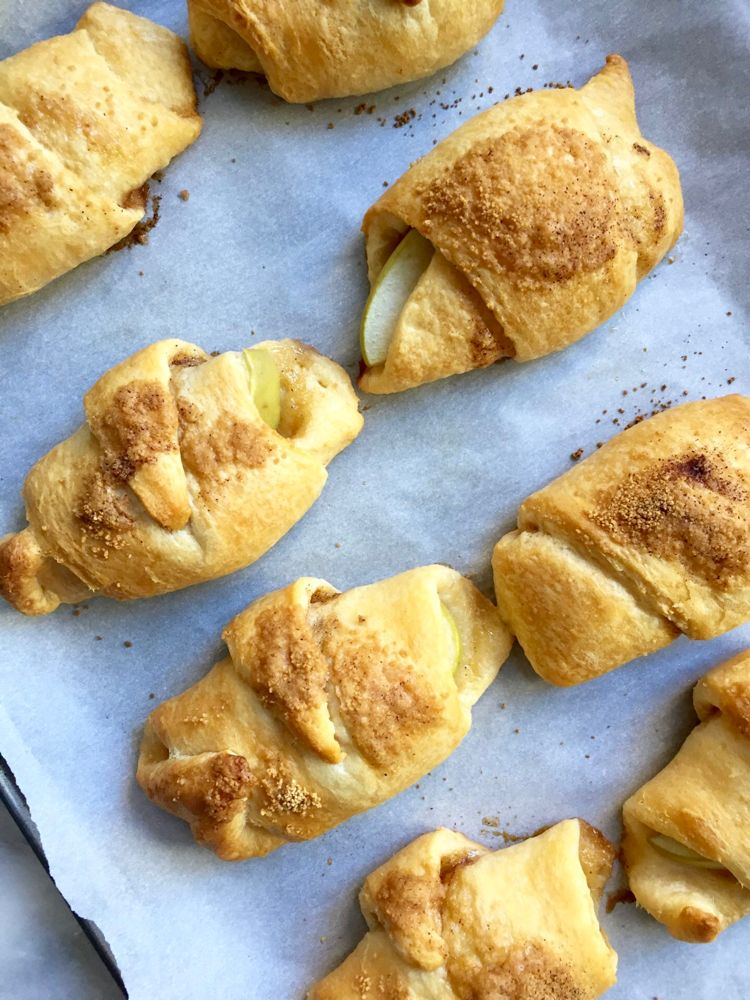 Apple Pie Crescent Rolls Recipe Apple pie crescents