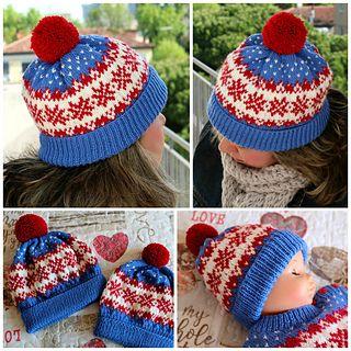 Photo of Winter Dreams Hat pattern by Lilia Vanini